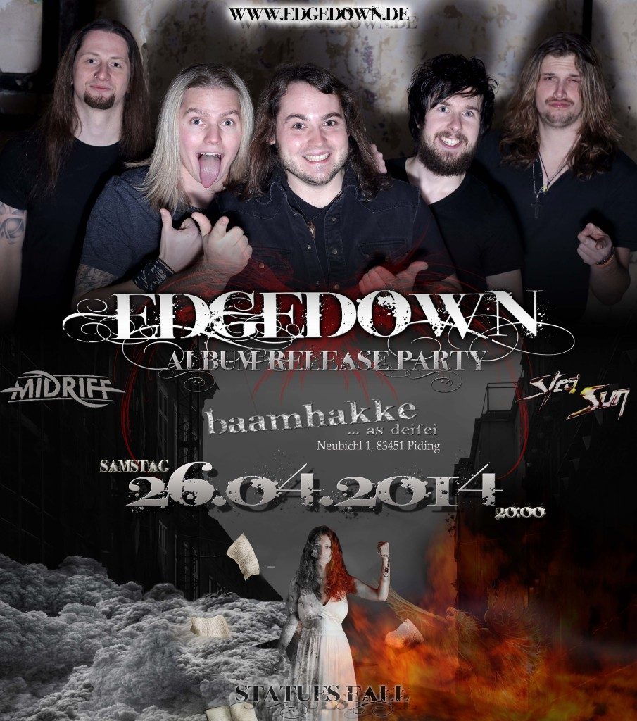 Release-Party EDGEDOWN